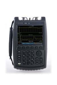 FIRST RF advanced equipment includes Portable Network Analyzer