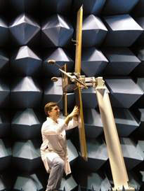 FIRST RF test ranges include a 50' anechoic chamber