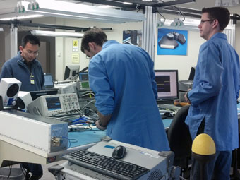 FIRST RF lab with state-of-the-art equipment and software